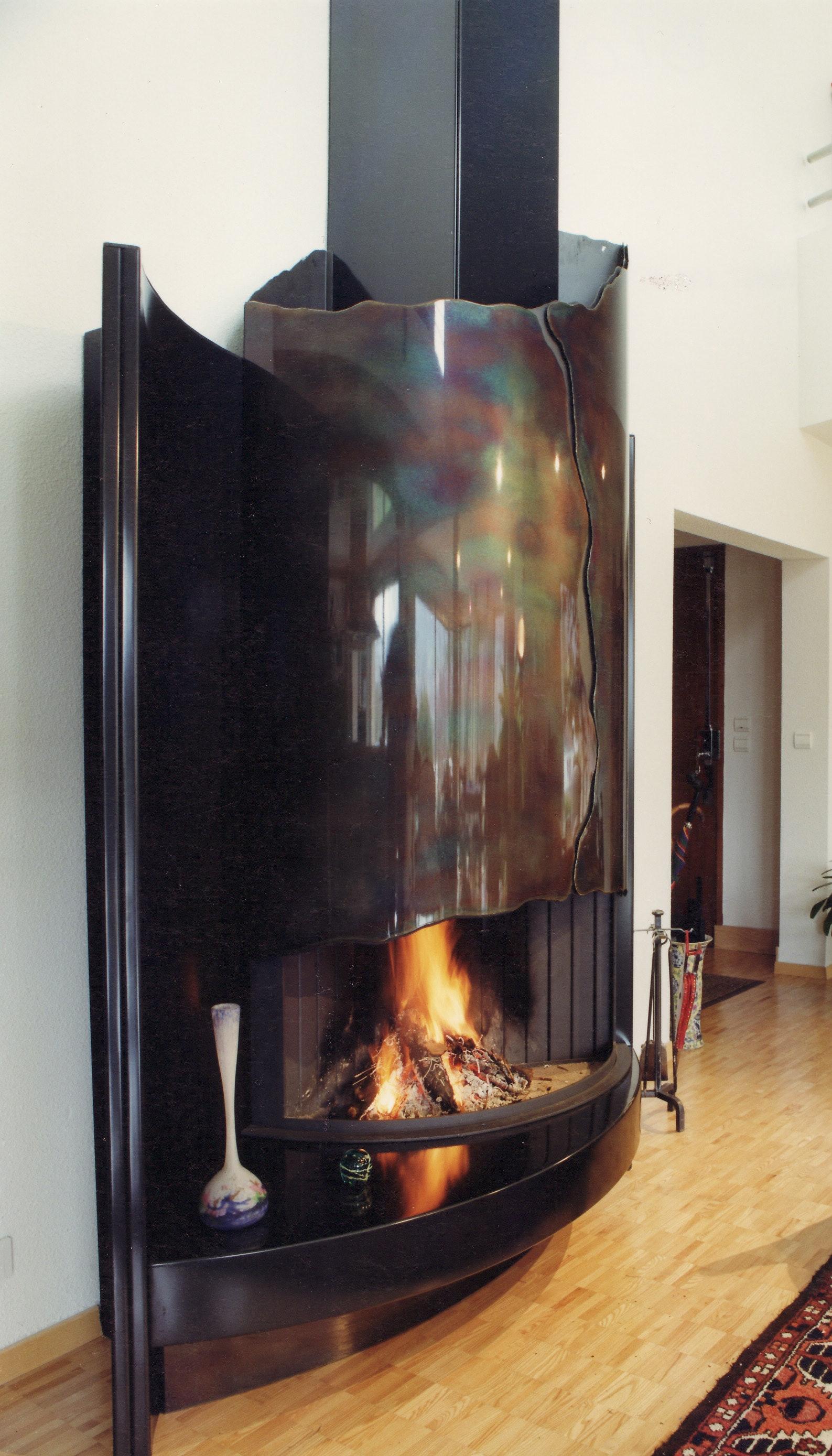 Bloch Design contemporary fireplace 1 Bespoke fireplace