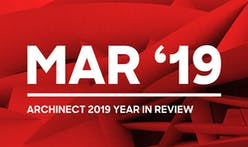 Celebrations of influential figures, anticipated project completions, and relatable design journeys — here are the highlights of March 2019