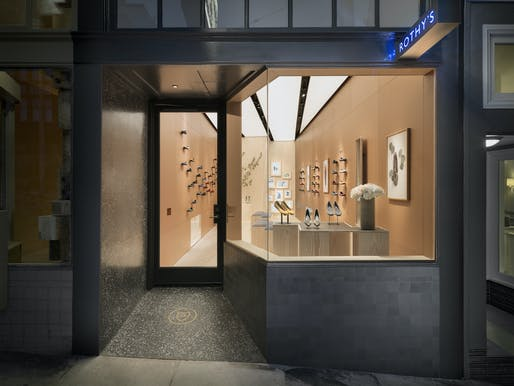 Rothys store. Image courtesy of MEM Architecture