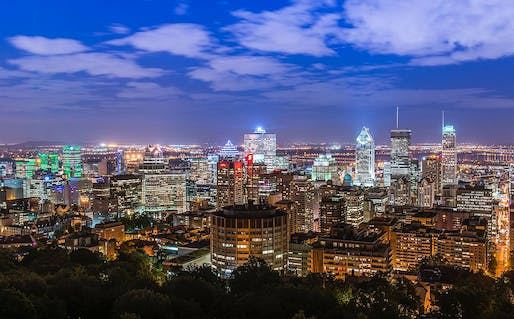 Montreal downtown. Image: WikiCommons.