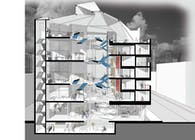 The hierachy of spaces/ Domitory Design