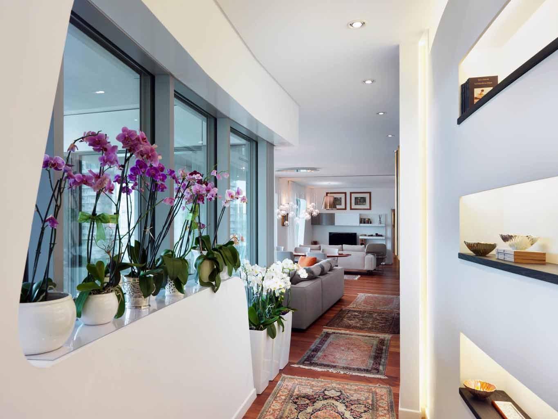 Entrance corridor CityLife Apartment Interior Design