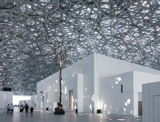 Award of Excellence: Louvre Abu Dhabi | Abu Dhabi, United Arab Emirates. Photo: Chris Coulter.