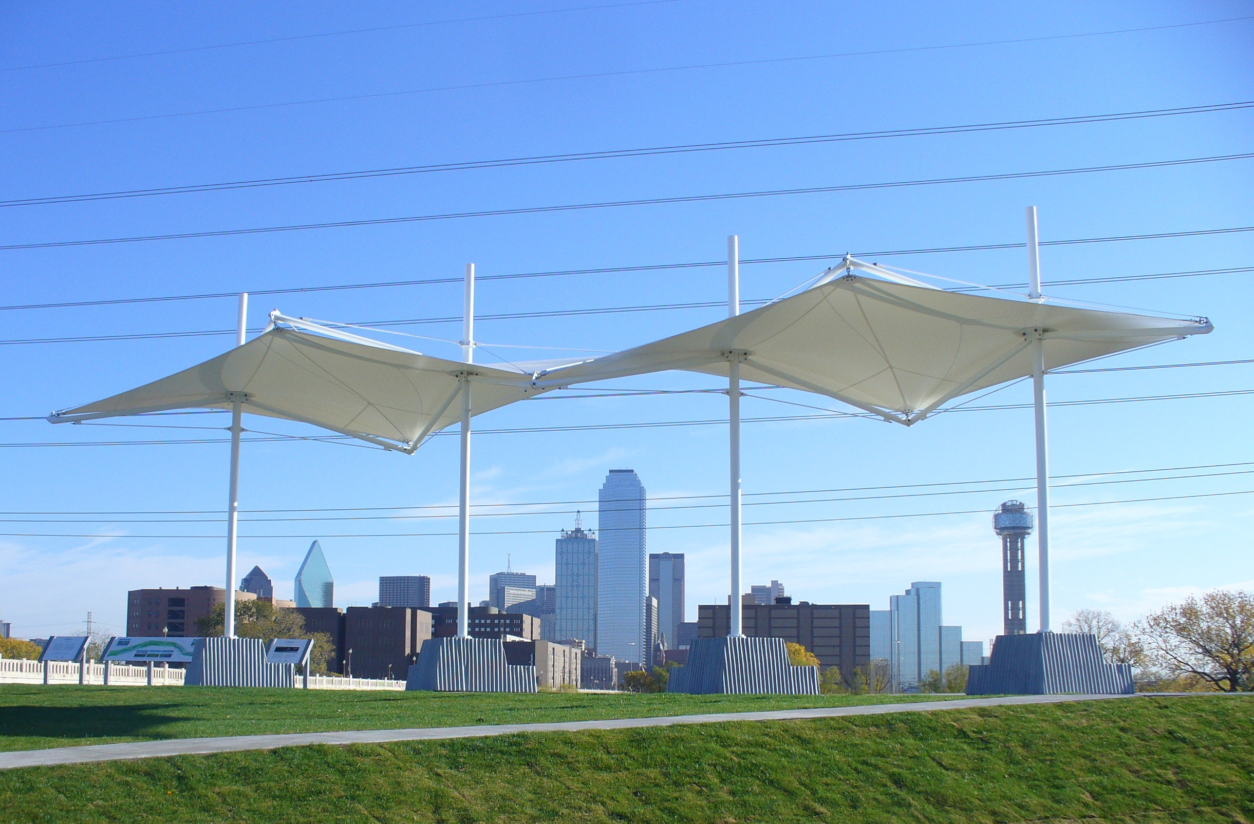 profile in a resume%0A Trinity River Overlook Shade Structure
