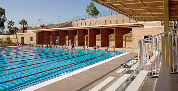 Caruso Watt Aquatics Center Brentwood School