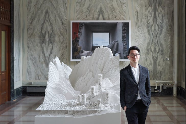 James Leng, 2018-2019 Harry der Boghosian Fellowship recipient at Syracuse University School of Architecture. Image courtesy of Shawn Tang.