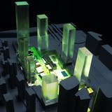 Presentation model of DaChong Masterplan. Image by Studio Link-Arc, LLC