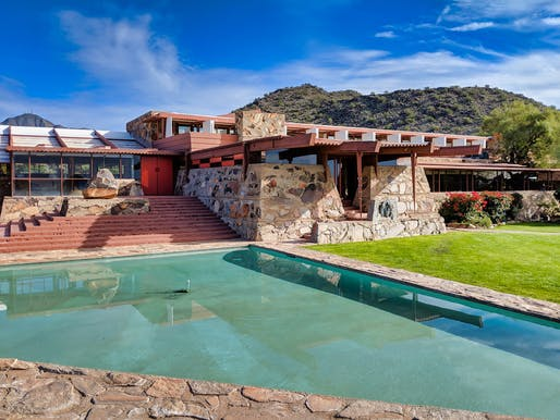"Taliesin West. Image courtesy of <a href=""https://www.flickr.com/photos/dalecruse/45674056264"">Flickr User Dale Cruse</a>"