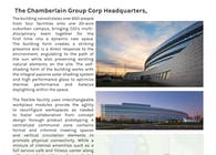 CGI - Chamberlain Group Headquarters