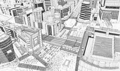 This Instagram page draws famous buildings, showing off the sketch process via timelapse