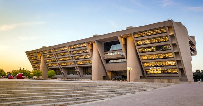 Dallas City Hall, a 1977 brutalist-style building designed by architect I.M. Pei. Photo courtesy of the City of Dallas