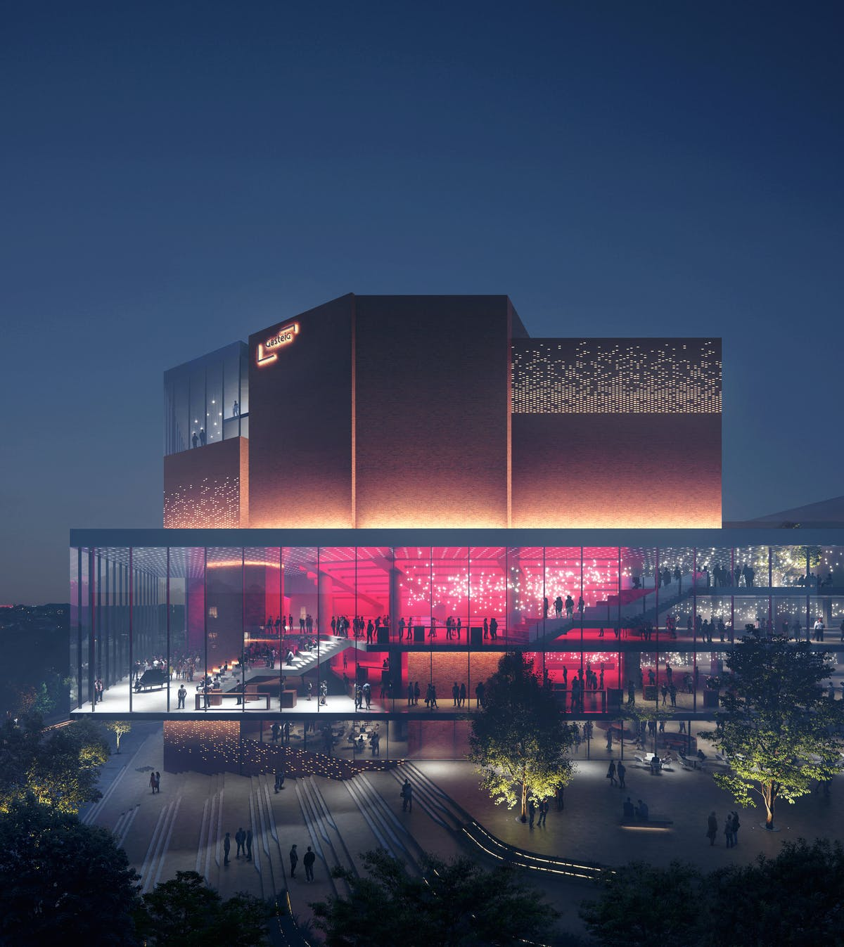 HENN's winning design gives the largest cultural center in Europe a makeover