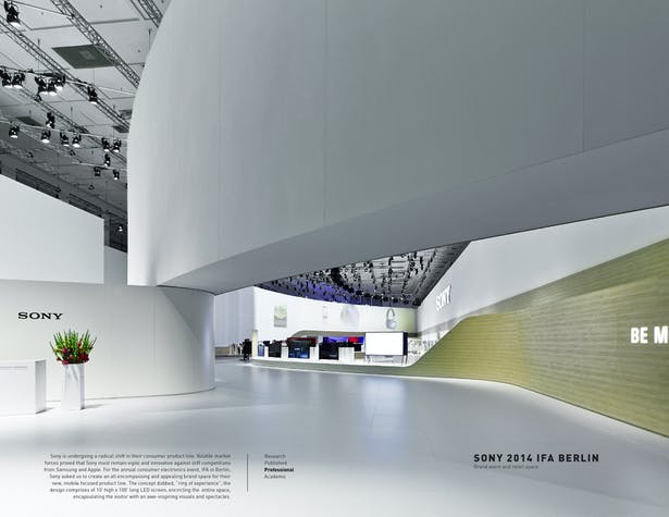 Sony 2014 IFA / Brand, Event & Retail Space, Berlin, DE