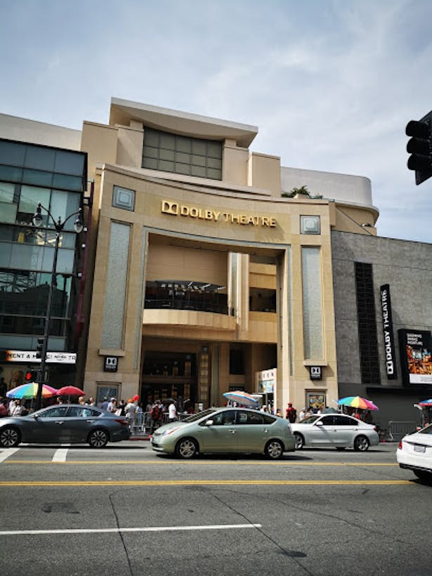 The Dolby Theater house to the Oscars