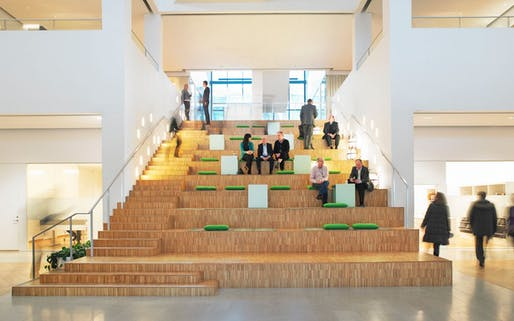 Vattenfall's New Stockholm Headquarters by Tengbom. Image © Björn Lofterud