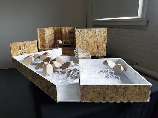 Architecture students in DK Osseo-Asare's Humanitarian Materials Lab helped develop the project concept and build the final model, which was exhibited over the summer at MoMA PS1 in Queens, New York.