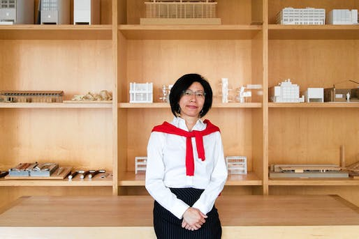 DESIGNING WOMEN: 'There's an influx of more women coming in, but the hurdles haven't changed,' says Rosa Sheng, an architect with Bohlin Cywinski Jackson in San Francisco. Jason Henry for The Wall Street Journal