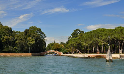 "The title of the 2016 Venice Biennale will be ""Reporting from the Front."" Image: the Giardini della Biennale, via Wikipedia"