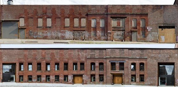 Kent street facade before and after © Jack M Kucy