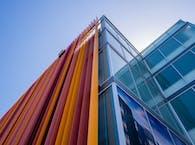 Uptown Orange Parking Structure, Exterior Design Feature