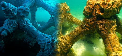 MARS—Modular Artificial Reef Structure by Reef Design Lab, Melbourne, Australia.