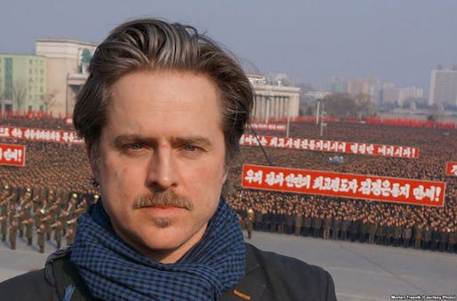 """Morten Traavik produced the first Norwegian arts festival in North Korea, """"Yes, we love this country"""", named after Norway's national anthem. (The Art Newspaper; Photo: voanews.com)"""