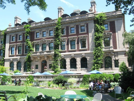 Photo of the Cooper Hewitt, National Design Museum in New York City. Image courtesy of Wikimedia user Jim.henderson.
