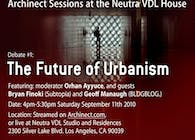 Archinect Sessions: 'Future of Urbanism'