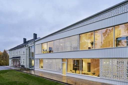 Hjältarnas Hus (House of Heroes) by White Arkitekter, located in Umeå, Sweden. Image: Åke E:son Lindman.