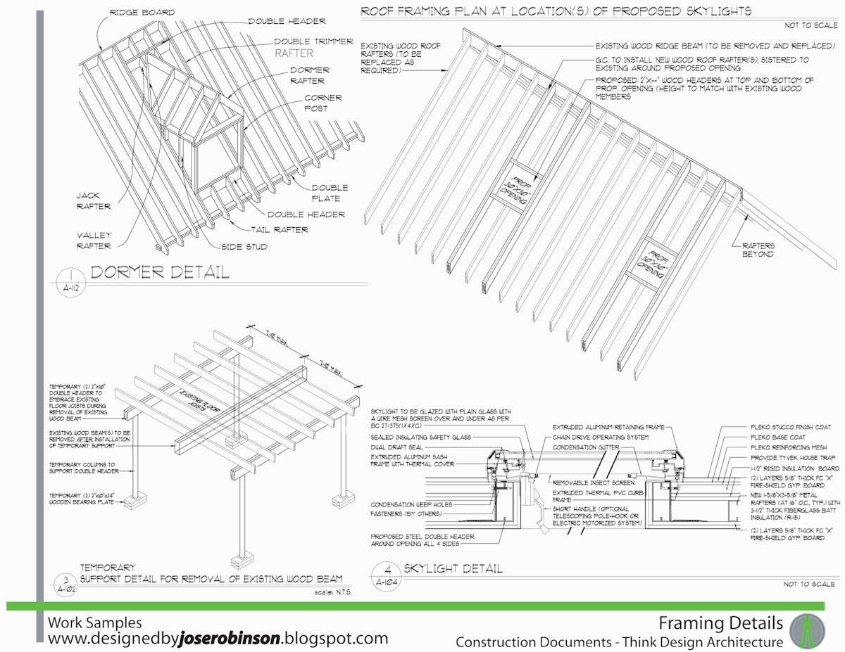 Construction Document Details Jose Robinson Archinect