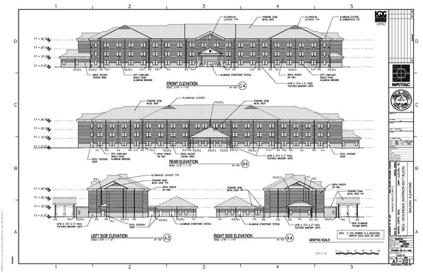 This is the Building Elevations
