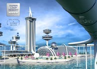 Hyperloop Resort. Miami Orlando