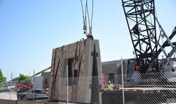 Production of precast concrete product that cures in 24 hours using carbon dioxide takes a step forward