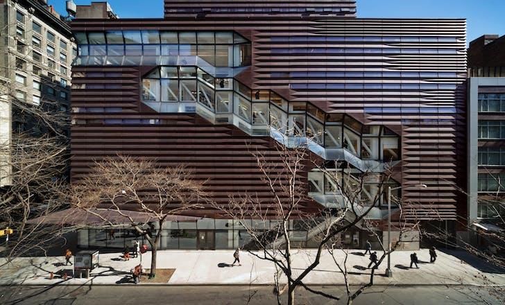 University Center – The New School. Photo courtesy SOM / © James Ewing | OTTO.