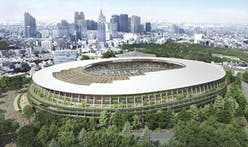 Kengo Kuma's Tokyo Olympic Stadium breaks ground
