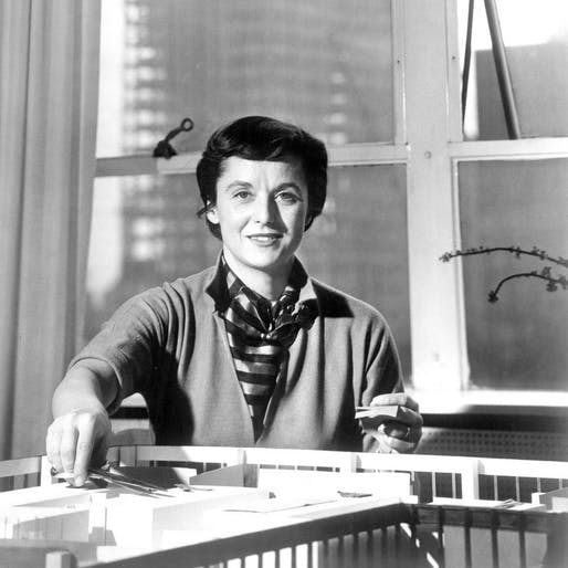 Florence Knoll as pictured in Interiors Magazine, July 1957 © Knoll, Inc.