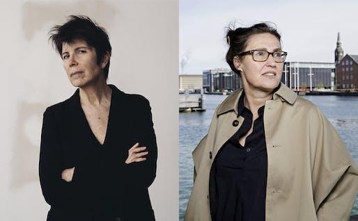 Left: Elizabeth Diller, photo by Geordie Wood; Right: Ellen van Loon, photo by Kristian Ridder Nielson.