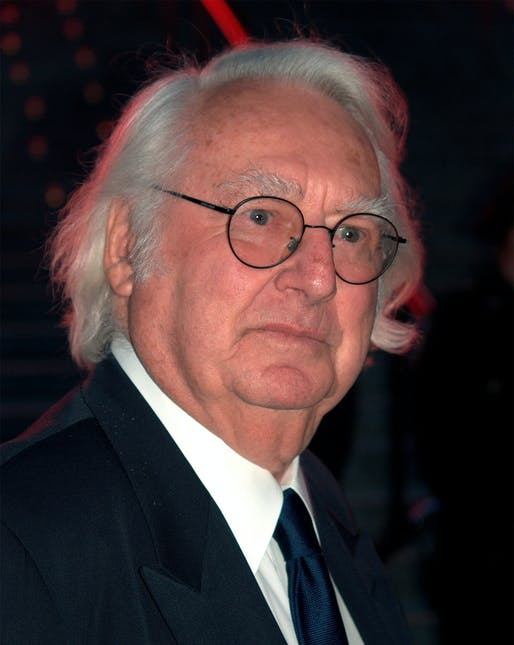 Architect Richard Meier in 2009. Photo: David Shankbone/Wikimedia Commons