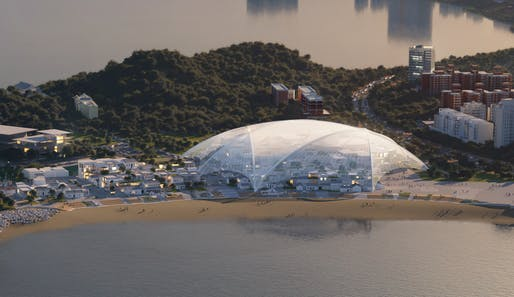 Zhuhai Cultural Arts Center by MAD Architects