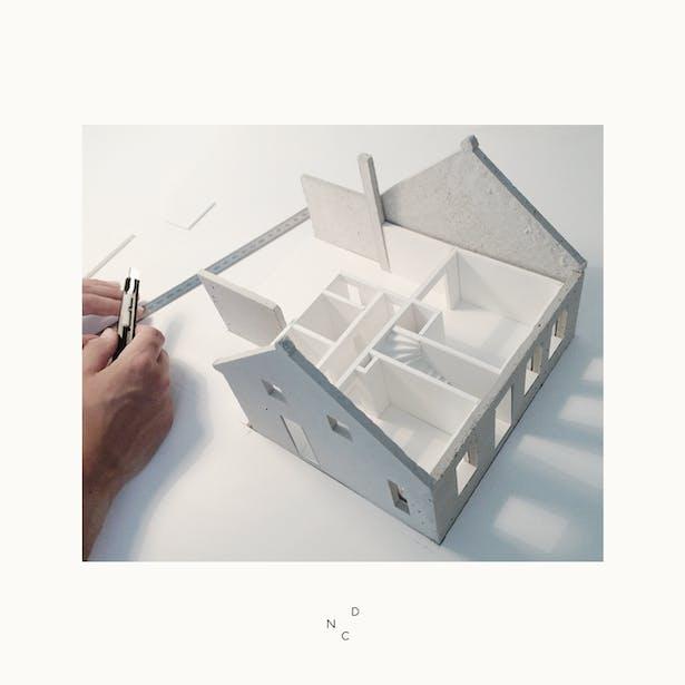 De Nieuwe Context ziet het ontwerp tot leven komen door de maquettes van Renske Bouten