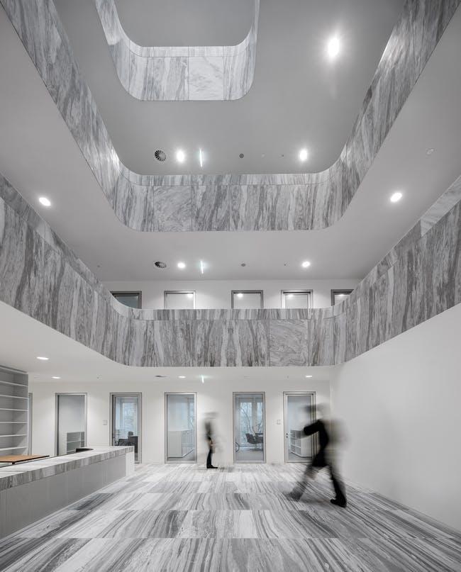 designed by KAAN Architecten (interior)