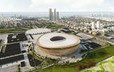 Design of Norman Foster's Lusail FIFA World Cup Stadium in Qatar unveiled