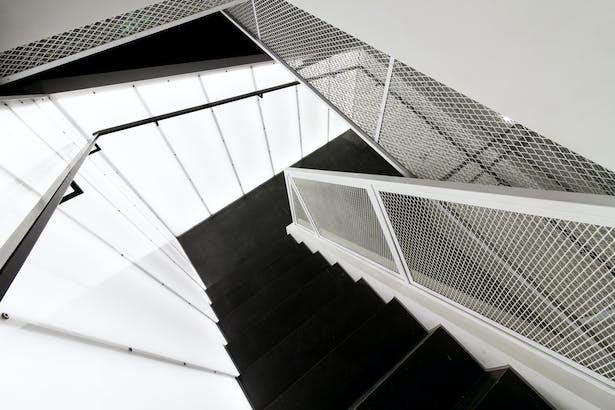 Staircase toward 3rd floor