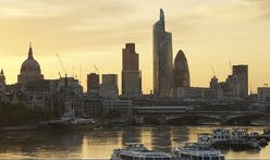 London future skyline is put on ice