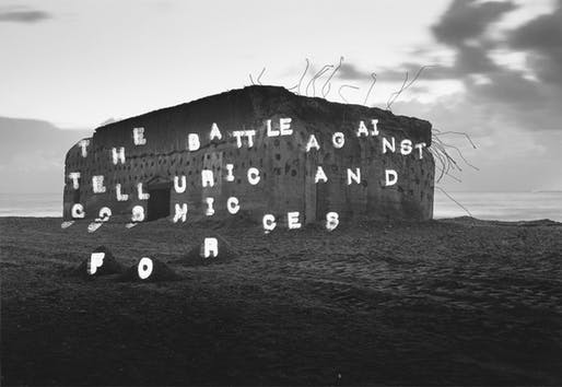Atlantic Wall (the battle against telluric and cosmic forces), 1994-1995
