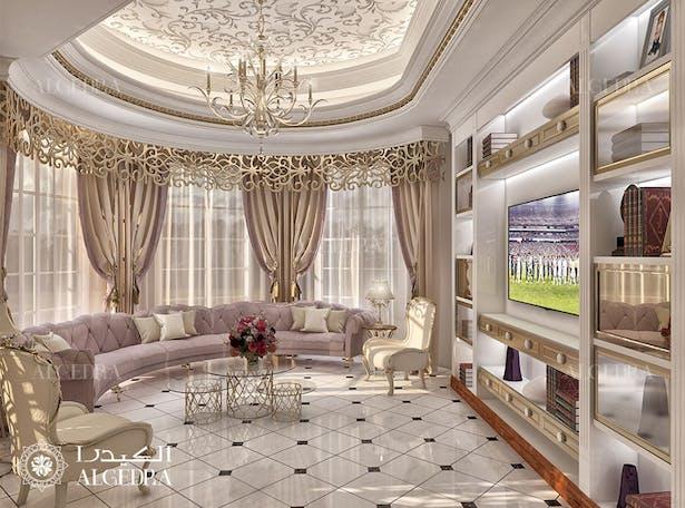 Luxury Classic Style Villa In Abu Dhabi Algedra Design Archinect
