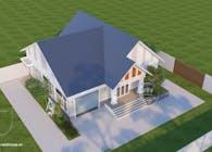 Thiết kế biệt thự nghĩ dưỡng kết hợp sân vườn tại Đắk Lắk