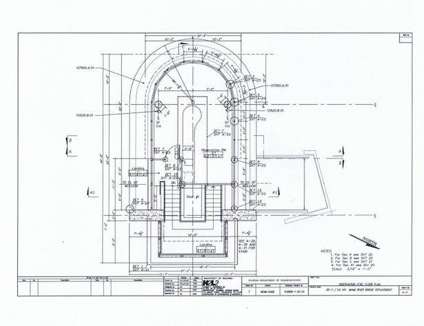 Observation Deck Level Floor Plan