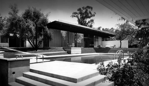 The Kronish House in Beverly Hills. Credit: J. Paul Getty Trust / Associated Press