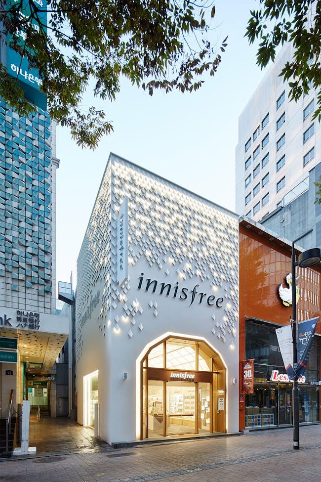 Innisfree in Seoul, South Korea by SOFTlab; Photo: Innisfree